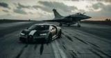 Bugatti Chiron посоревновался в драг-рейсе с истребителем