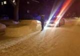 В Канаде полицейские хотели оштрафовать авто из снега