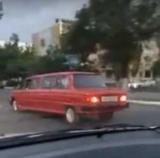 В Казахстане засветился запорожец-лимузин