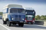 В Германии прошел автопробег винтажных грузовиков (фотка)